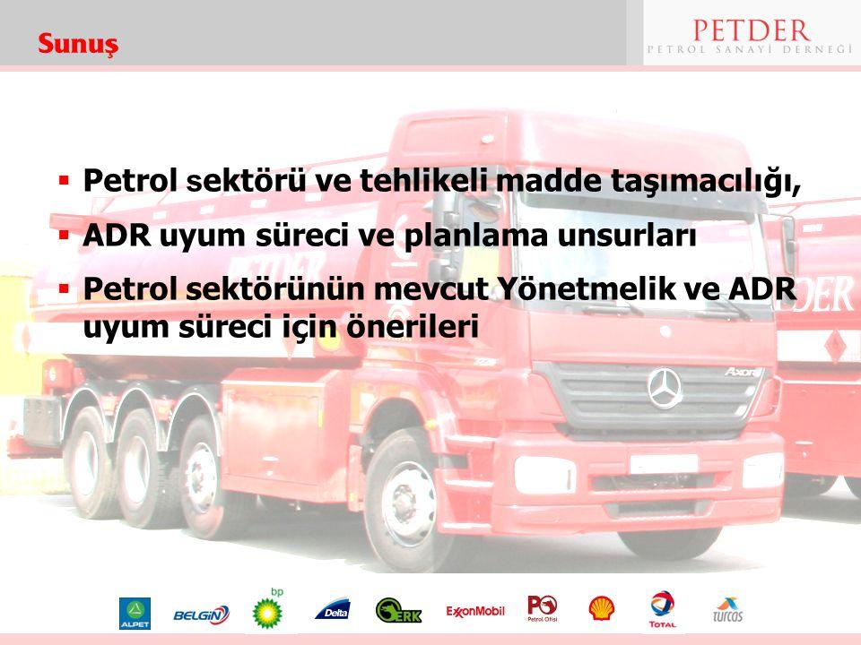 Petrol sektörü ve tehlikeli madde taşımacılığı,