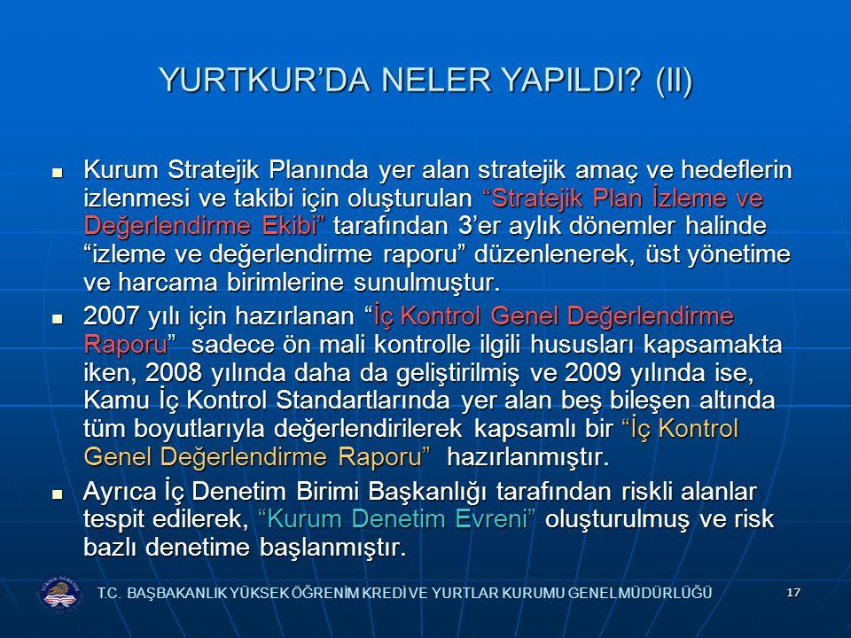 YURTKUR'DA NELER YAPILDI (II)