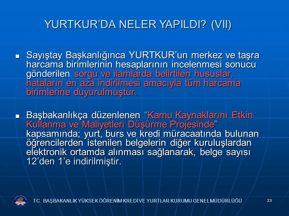 YURTKUR'DA NELER YAPILDI (VII)