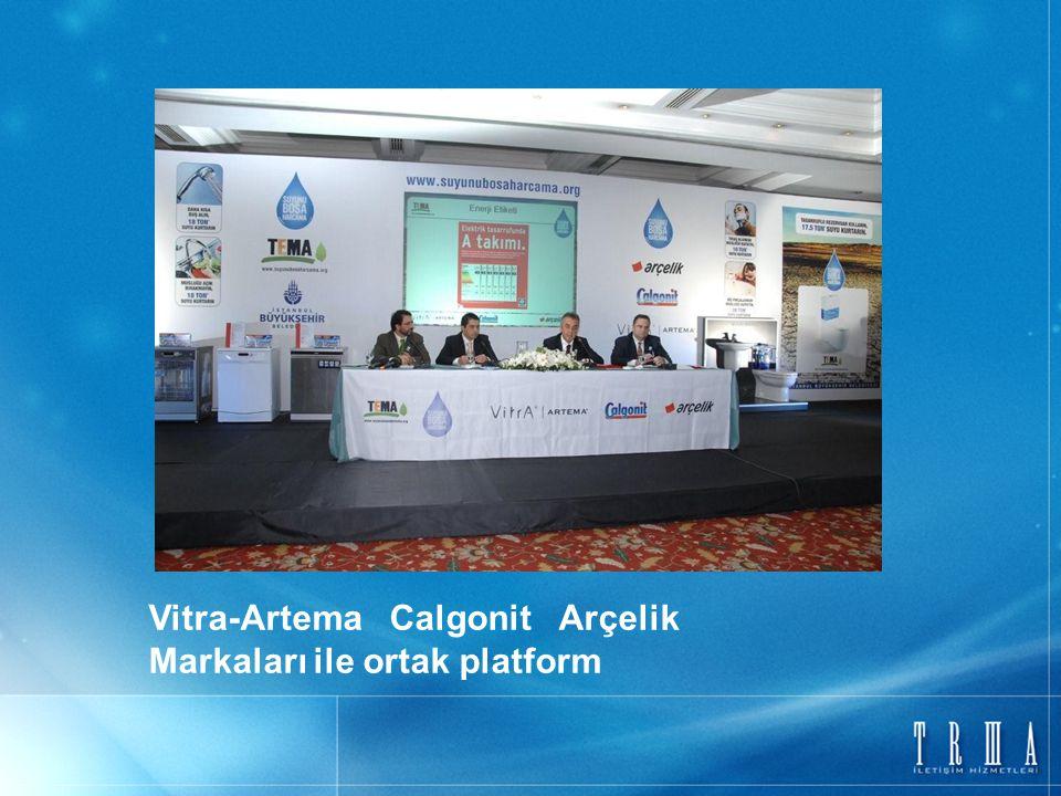 Vitra-Artema Calgonit Arçelik