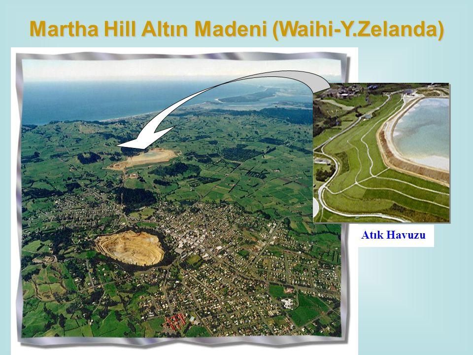 Martha Hill Altın Madeni (Waihi-Y.Zelanda)