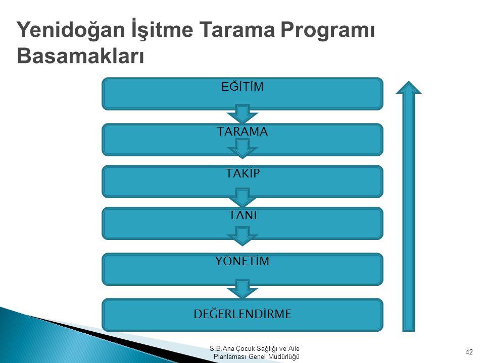 Yenidoğan İşitme Tarama Programı Basamakları