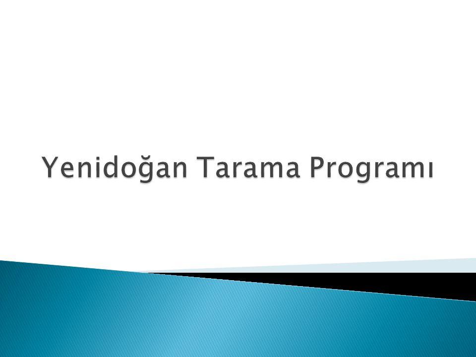 Yenidoğan Tarama Programı