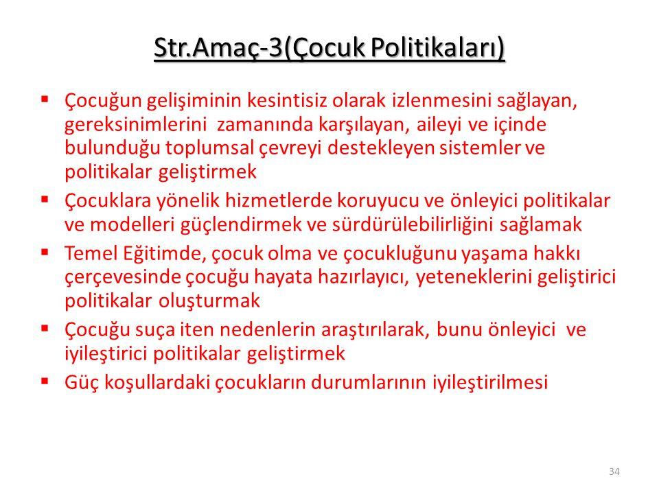 Str.Amaç-3(Çocuk Politikaları)