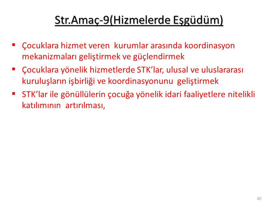Str.Amaç-9(Hizmelerde Eşgüdüm)