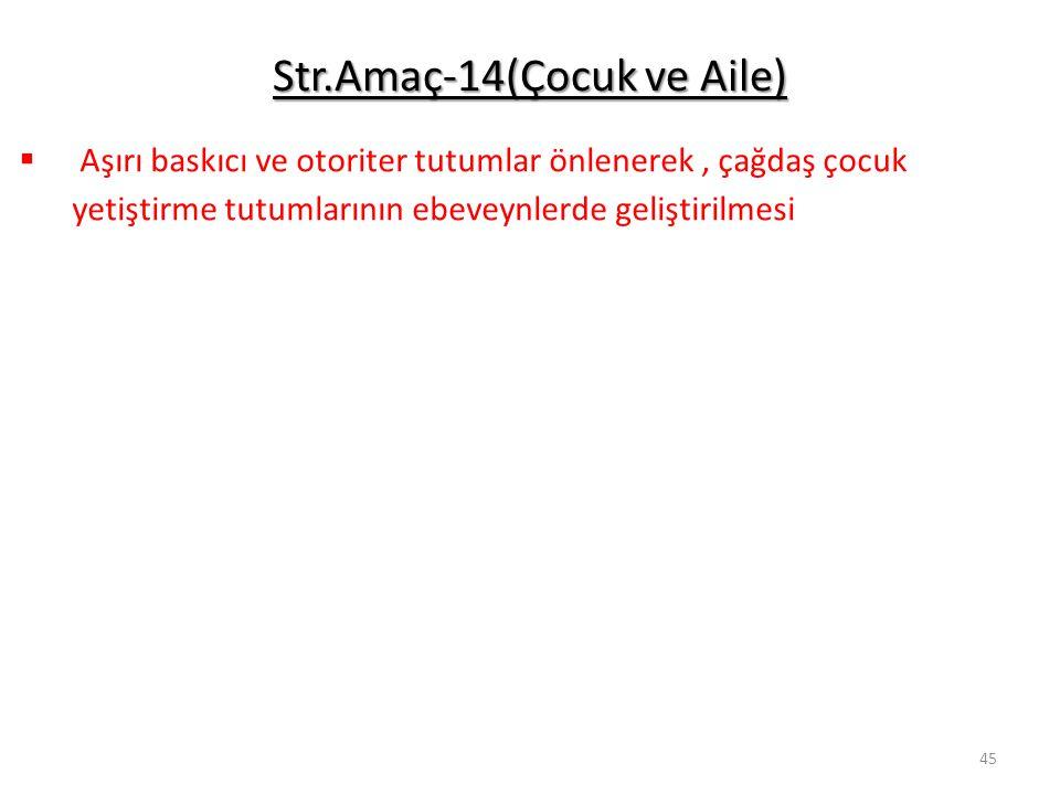 Str.Amaç-14(Çocuk ve Aile)