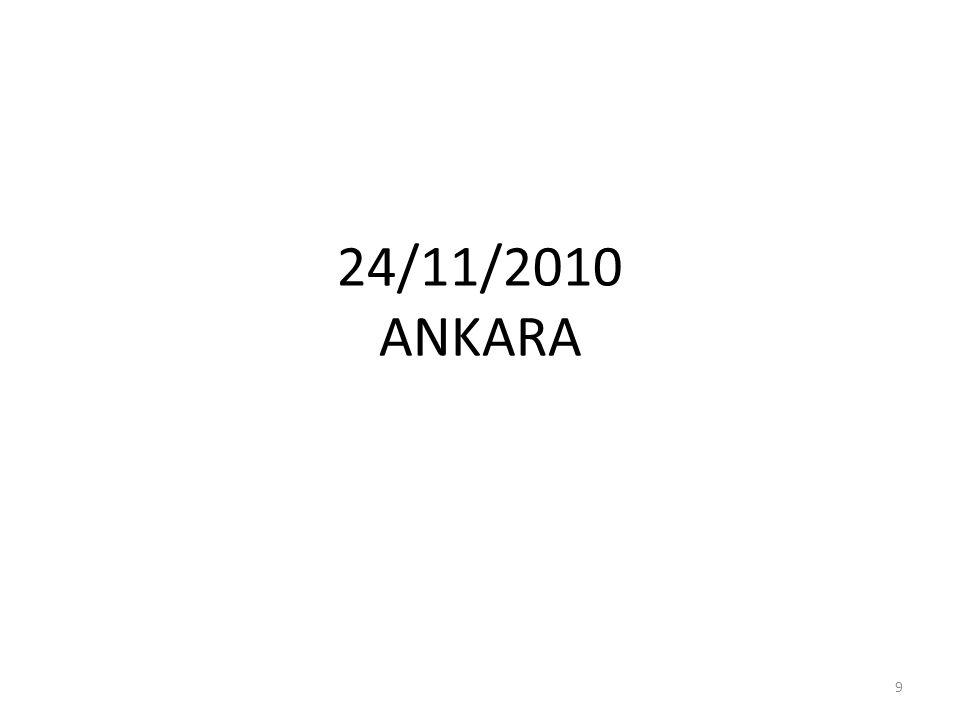 24/11/2010 ANKARA