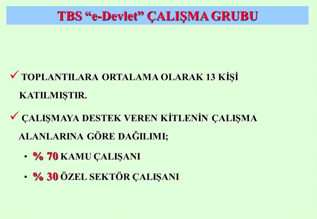 TBS e-Devlet ÇALIŞMA GRUBU