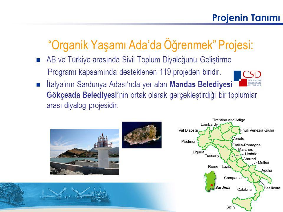 Organik Yaşamı Ada'da Öğrenmek Projesi: