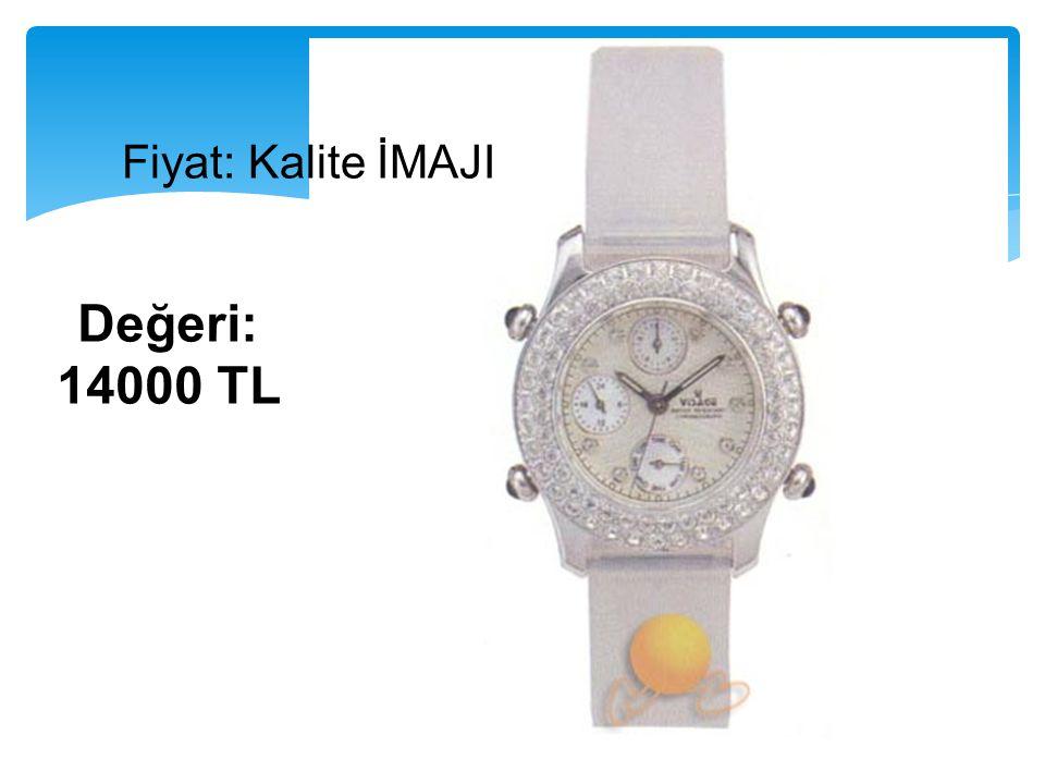 Fiyat: Kalite İMAJI Değeri: 14000 TL