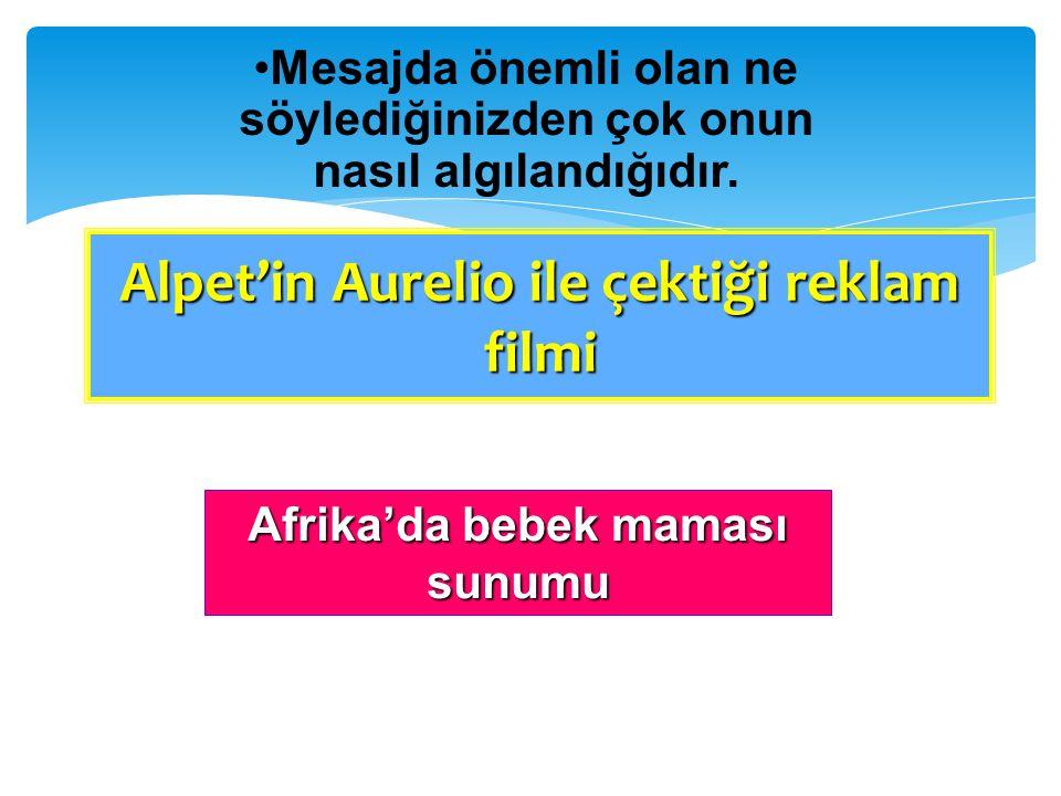 Alpet'in Aurelio ile çektiği reklam filmi