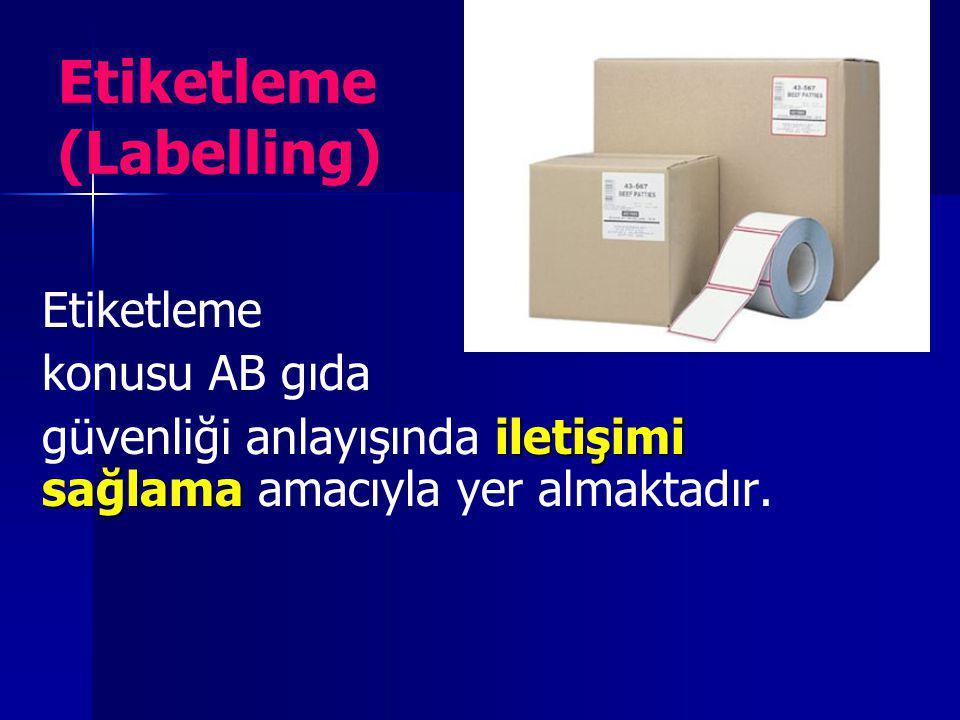 Etiketleme (Labelling)