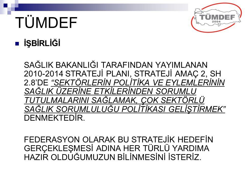 TÜMDEF İŞBİRLİĞİ.