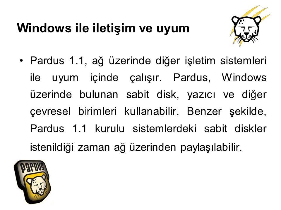 Windows ile iletişim ve uyum