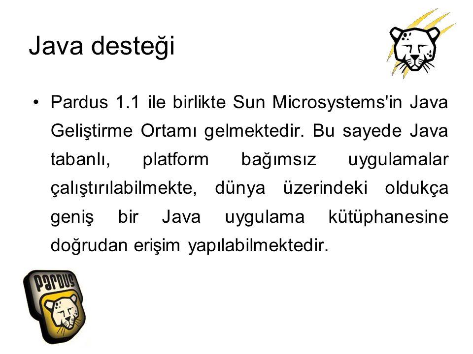 Java desteği