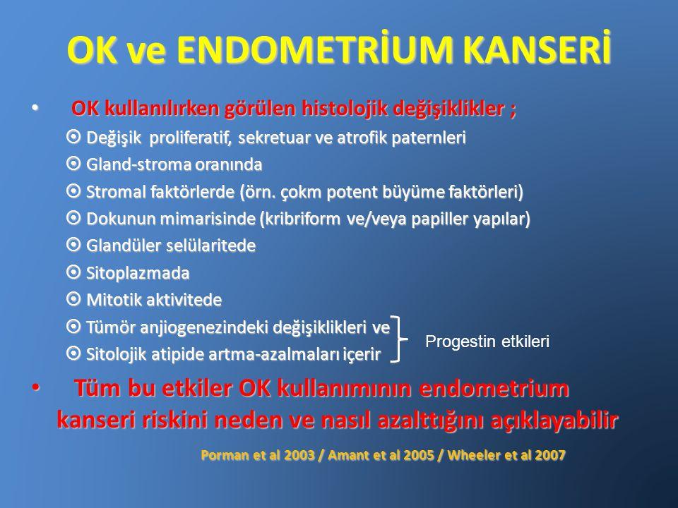 OK ve ENDOMETRİUM KANSERİ
