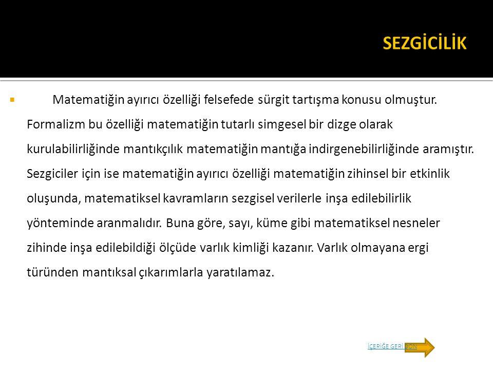 SEZGİCİLİK