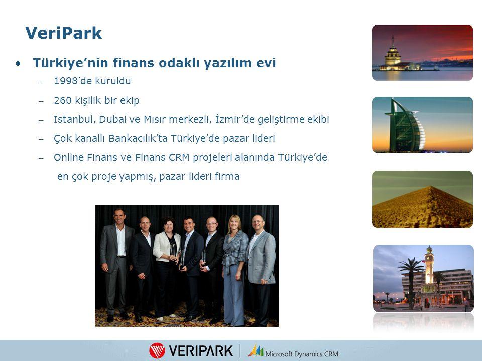 VeriPark Türkiye'nin finans odaklı yazılım evi 1998'de kuruldu