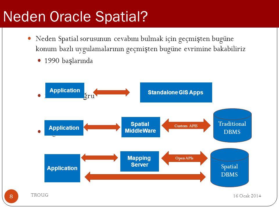 Neden Oracle Spatial