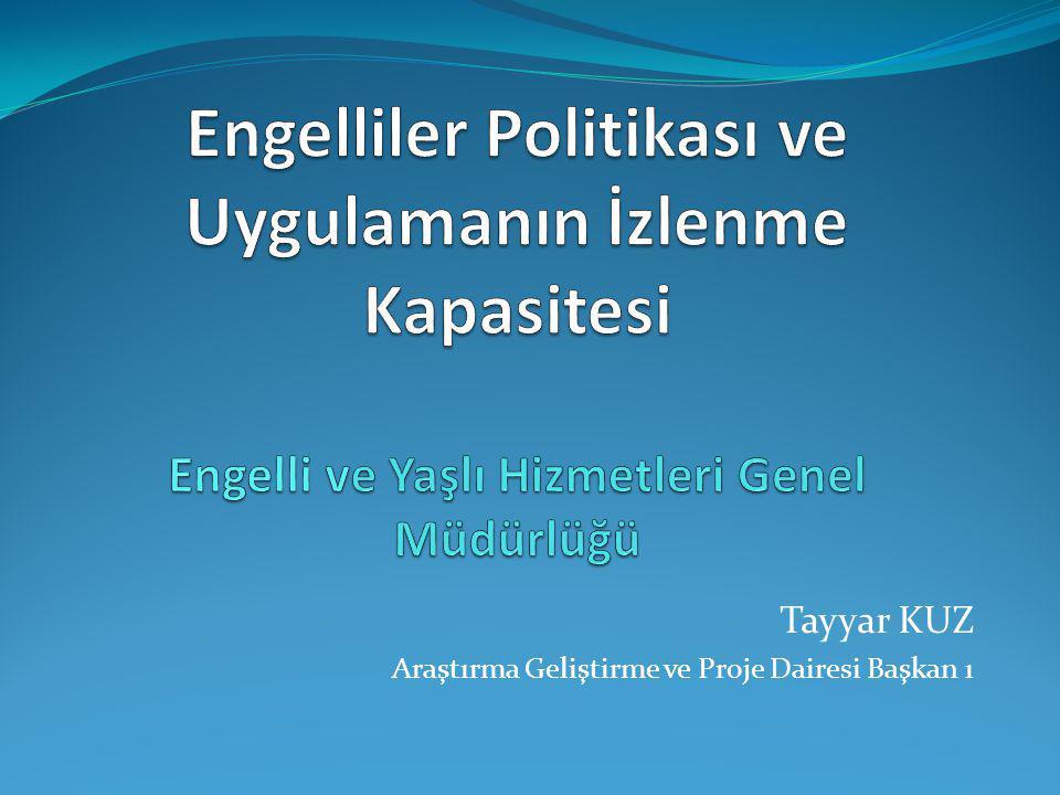Tayyar KUZ Araştırma Geliştirme ve Proje Dairesi Başkan ı