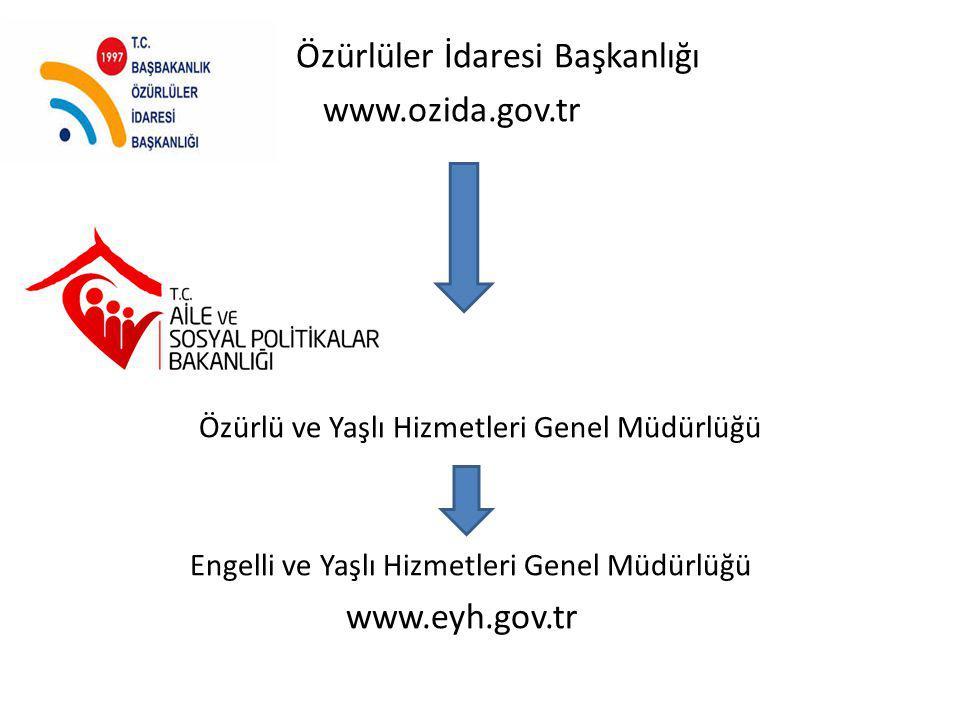 Özürlüler İdaresi Başkanlığı www.ozida.gov.tr