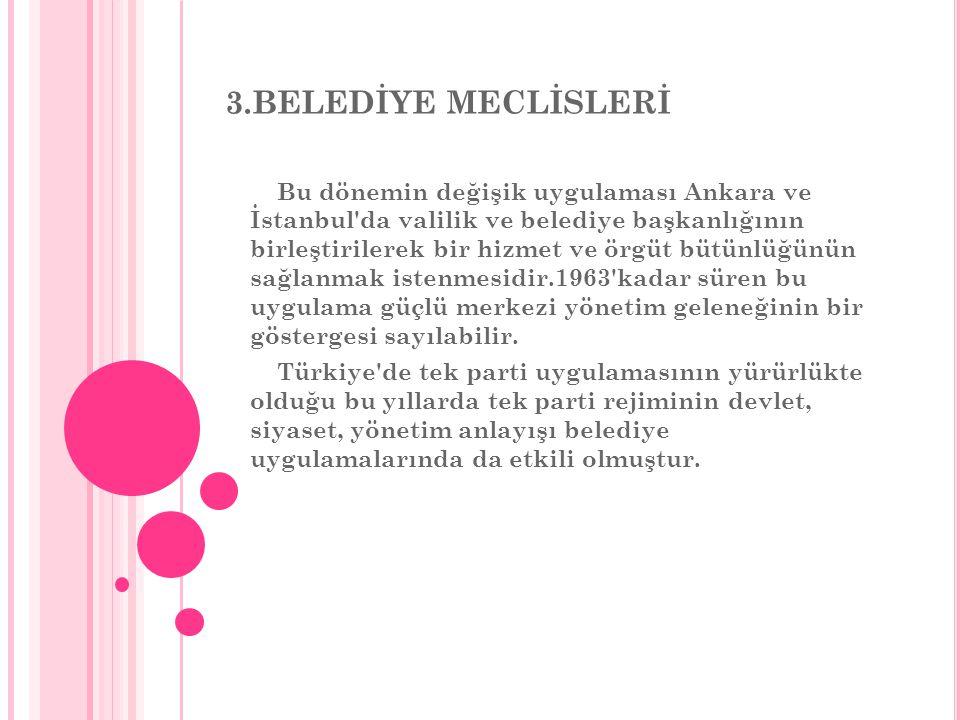 3.BELEDİYE MECLİSLERİ