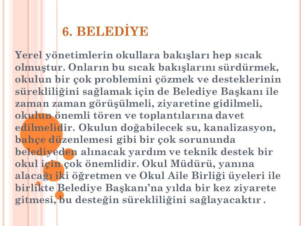 6. BELEDİYE