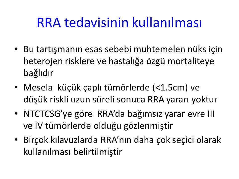 RRA tedavisinin kullanılması