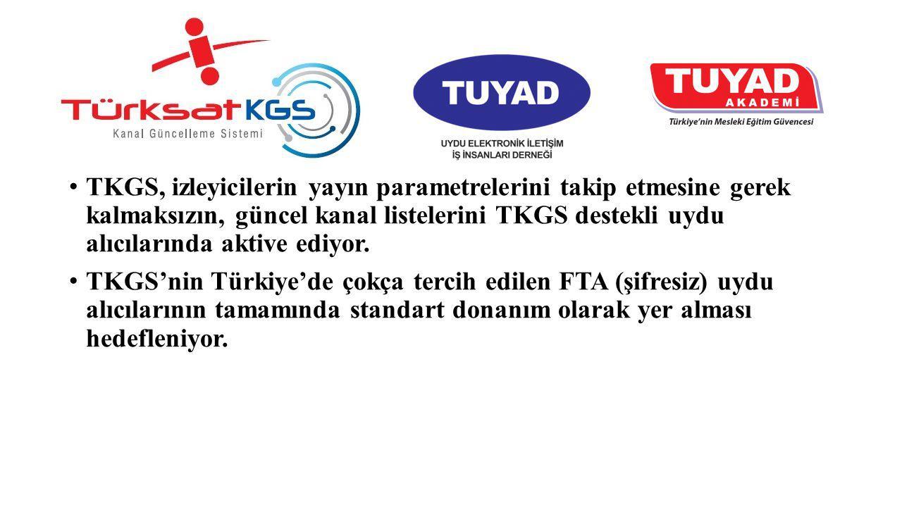 TKGS, izleyicilerin yayın parametrelerini takip etmesine gerek kalmaksızın, güncel kanal listelerini TKGS destekli uydu alıcılarında aktive ediyor.