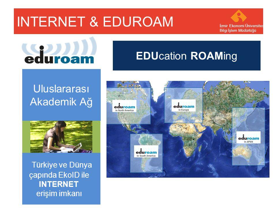 INTERNET & EDUROAM EDUcation ROAMing Uluslararası Akademik Ağ