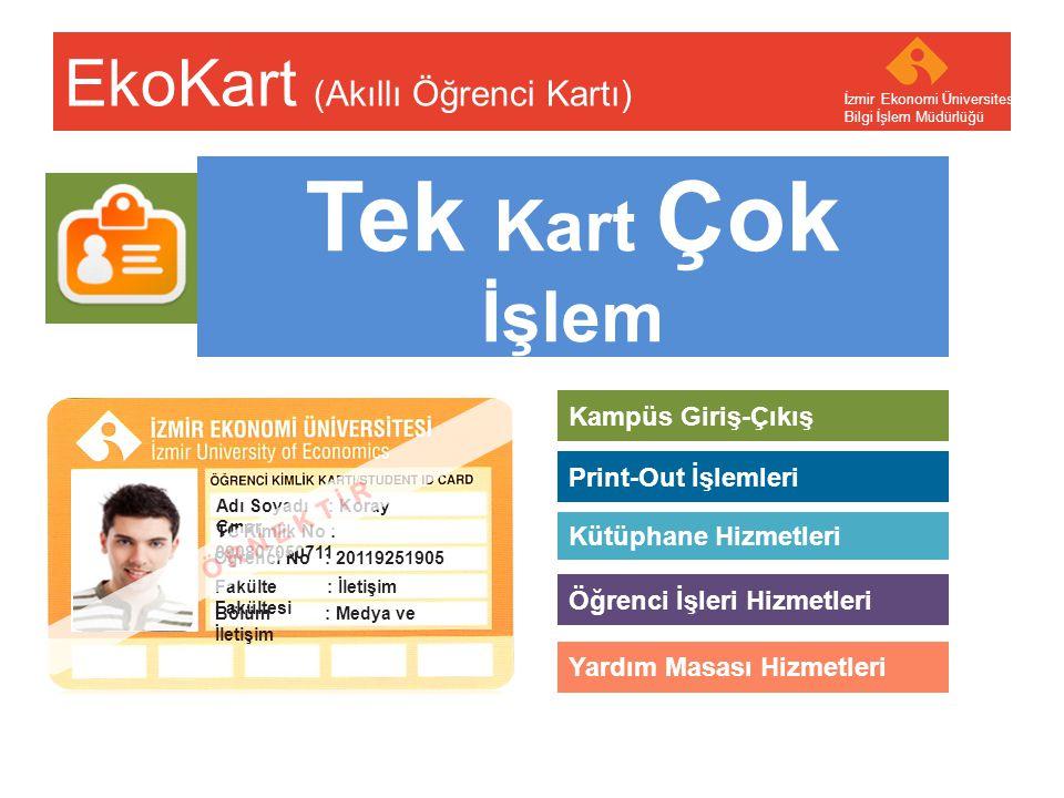EkoKart (Akıllı Öğrenci Kartı)