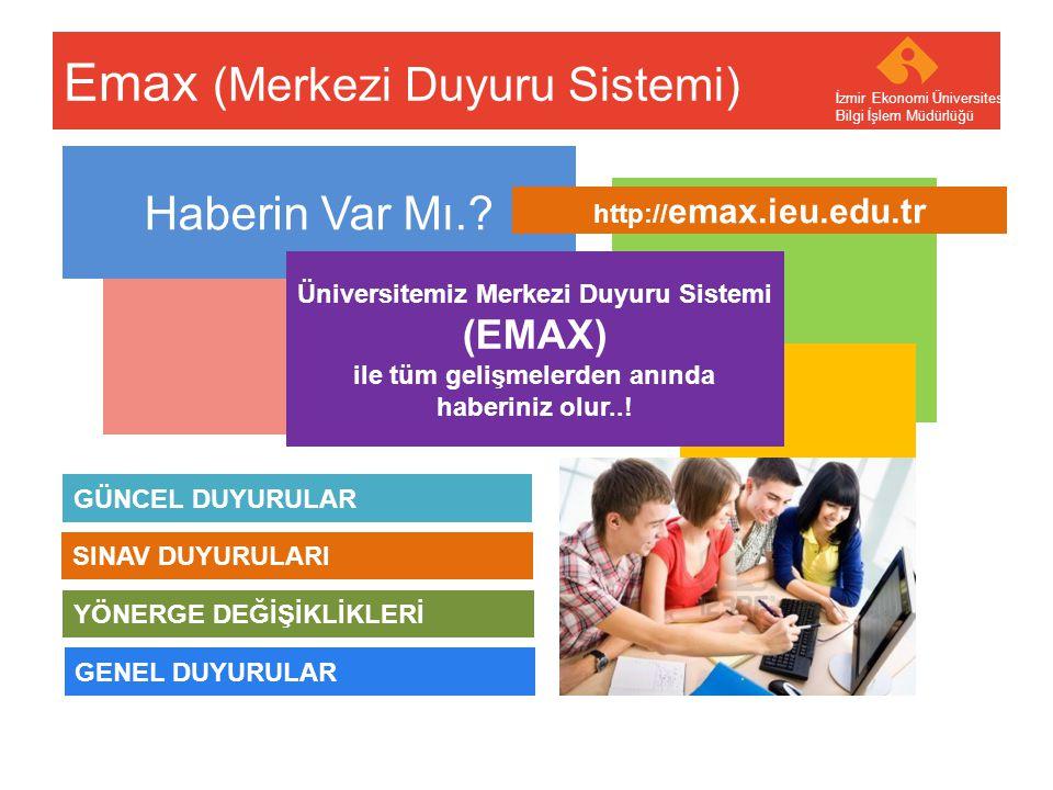 Emax (Merkezi Duyuru Sistemi)