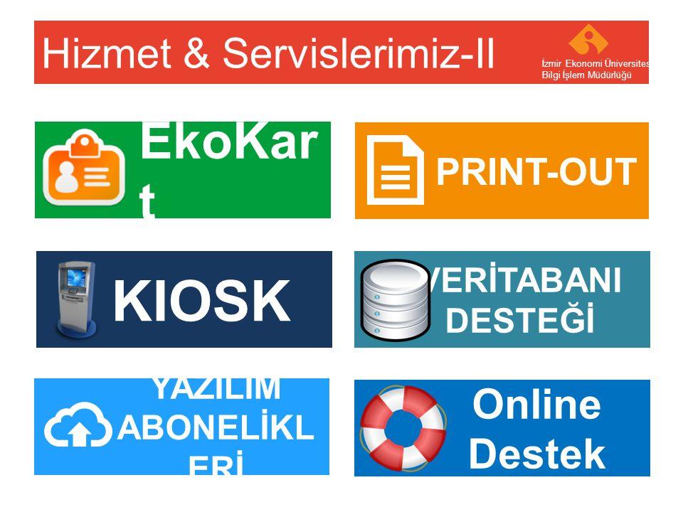 Hizmet & Servislerimiz-II