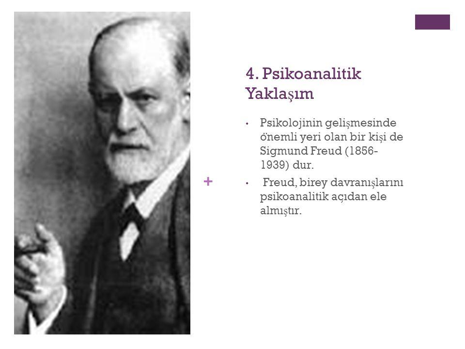 4. Psikoanalitik Yaklaşım