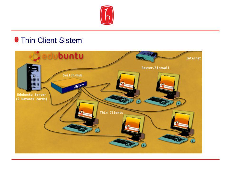 Thin Client Sistemi