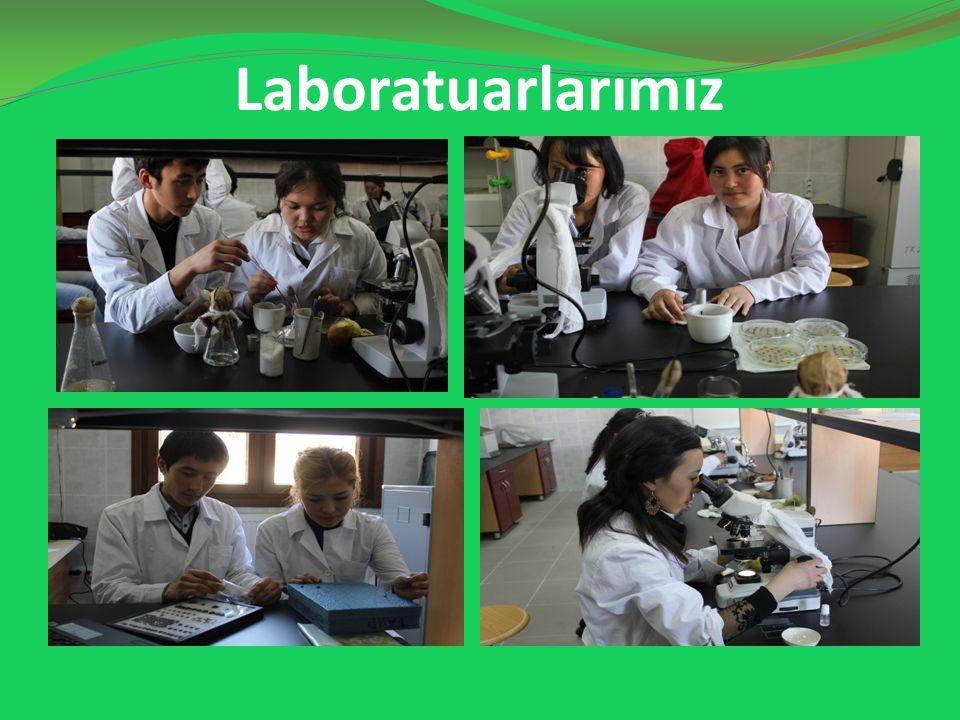 Laboratuarlarımız