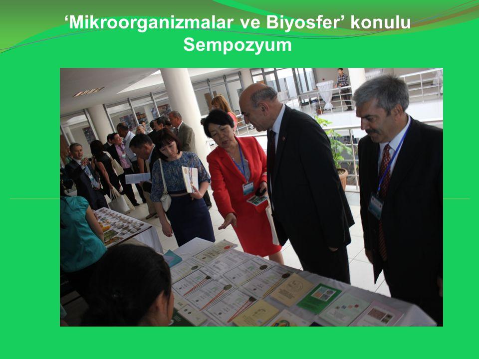 'Mikroorganizmalar ve Biyosfer' konulu Sempozyum