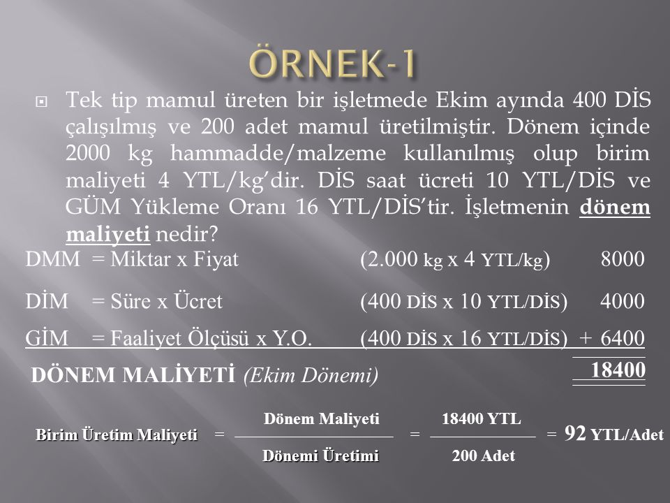 ÖRNEK-1