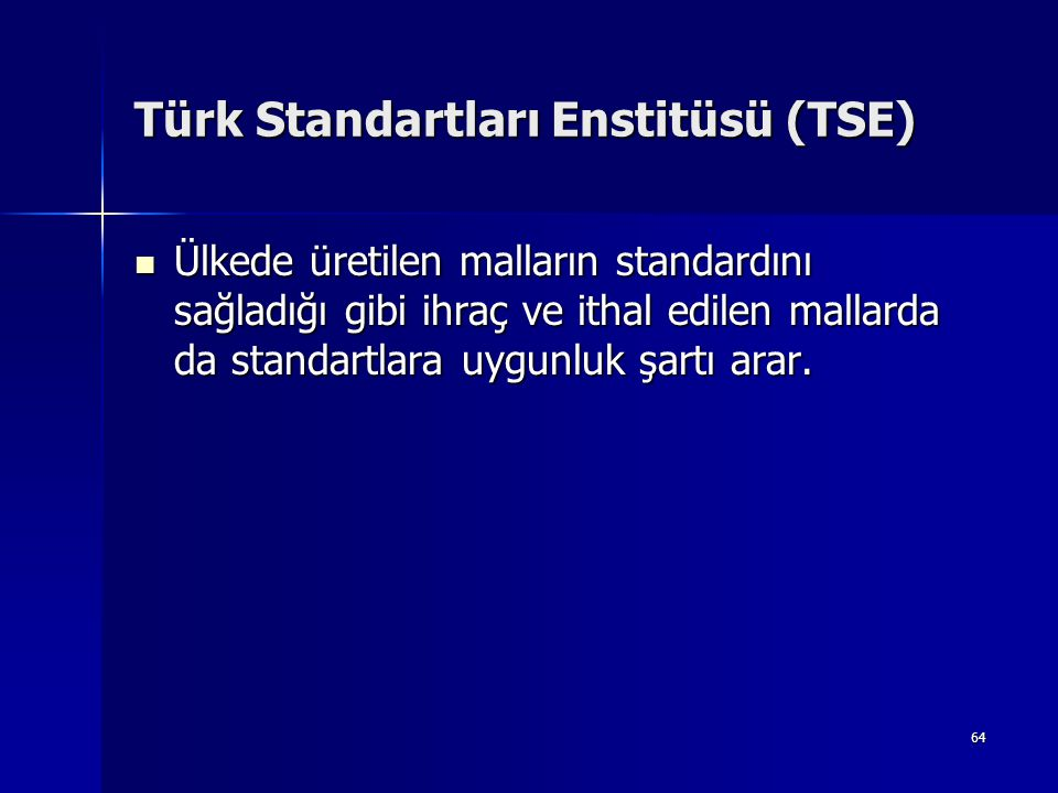 Türk Standartları Enstitüsü (TSE)