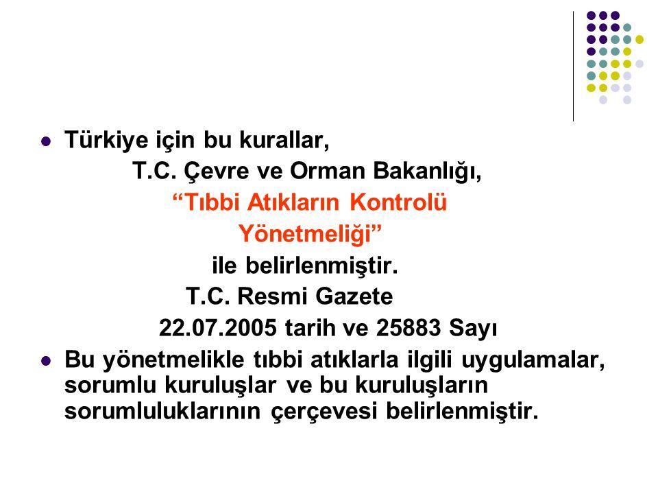 Türkiye için bu kurallar,