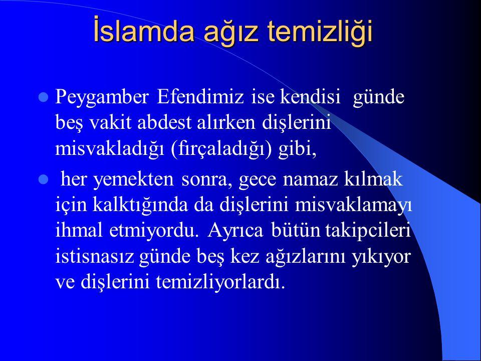 İslamda ağız temizliği