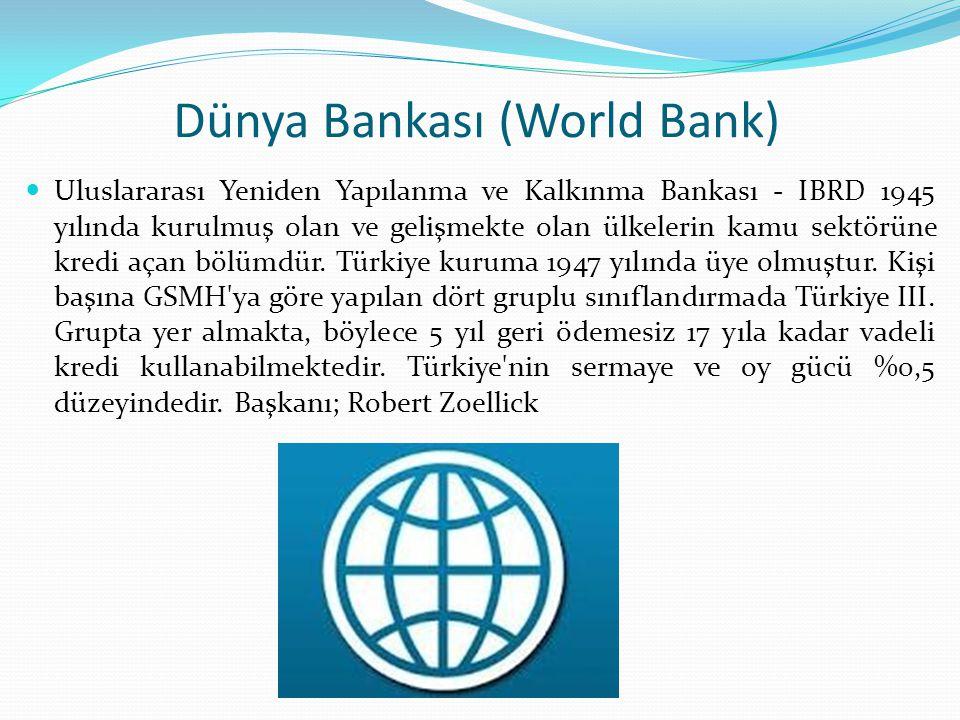 Dünya Bankası (World Bank)