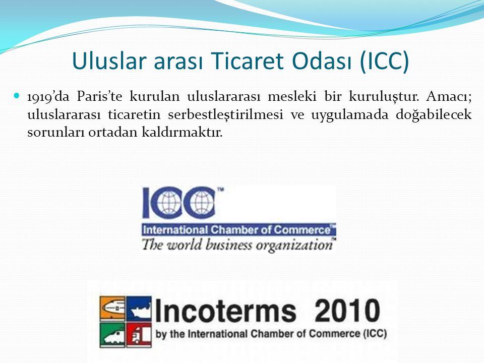 Uluslar arası Ticaret Odası (ICC)