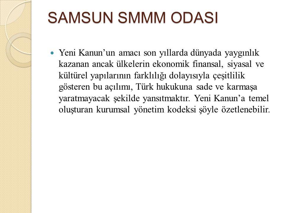 SAMSUN SMMM ODASI
