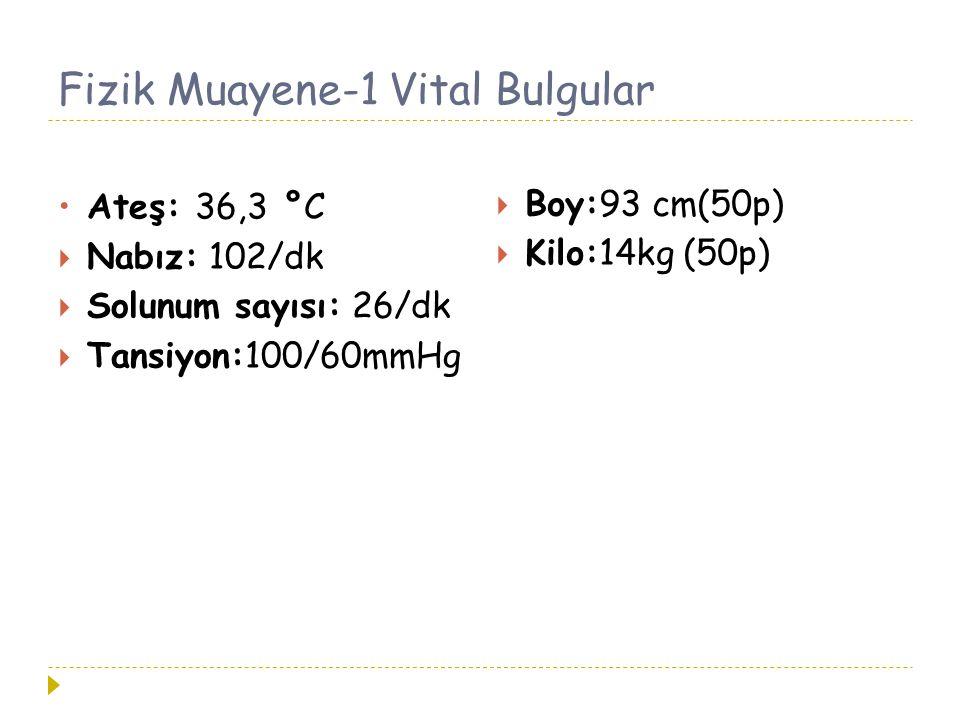 Fizik Muayene-1 Vital Bulgular