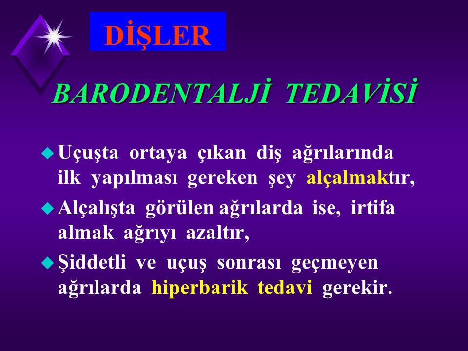 BARODENTALJİ TEDAVİSİ