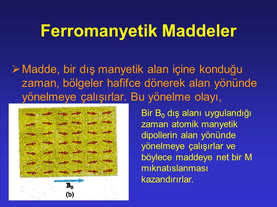 Ferromanyetik Maddeler