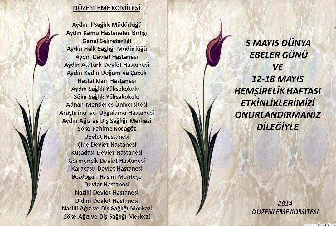DÜZENLEME KOMİTESİ Aydın il Sağlık Müdürlüğü. Aydın Kamu Hastaneler Birliği Genel Sekreterliği.