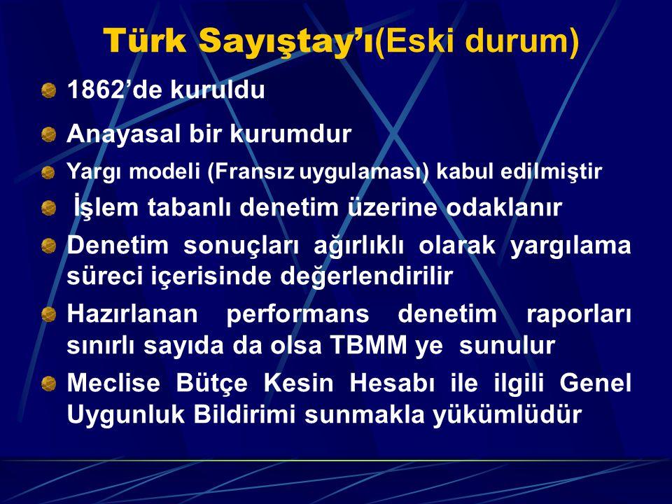 Türk Sayıştay'ı(Eski durum)