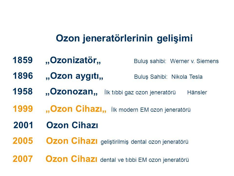 Ozon jeneratörlerinin gelişimi